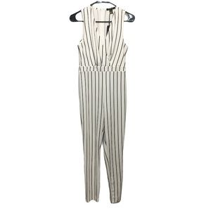NEW Revamped Striped Sleeveless Jumpsuit M